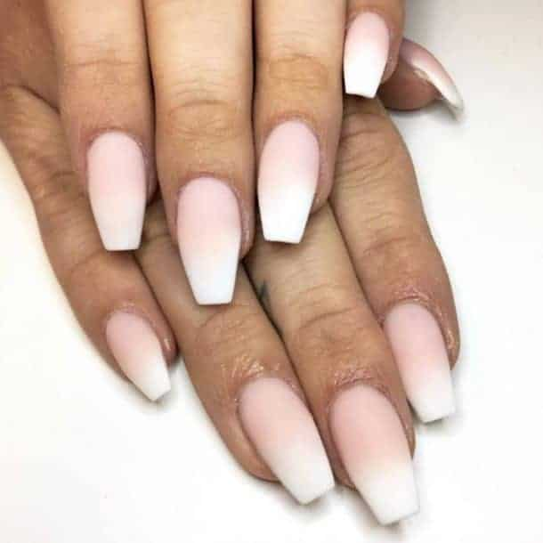 Ombre Seamless French Manicure