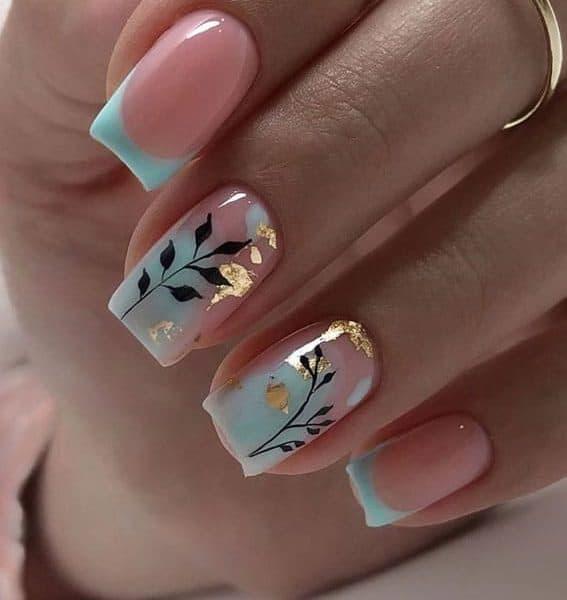 Short Square Shaped Nails