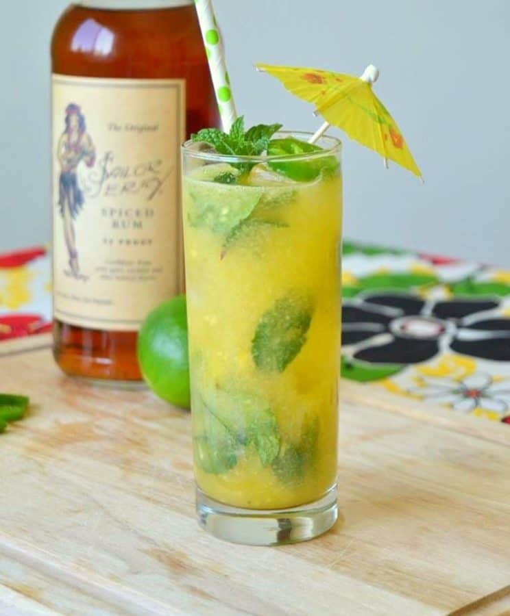 Tropical Heat Mojito