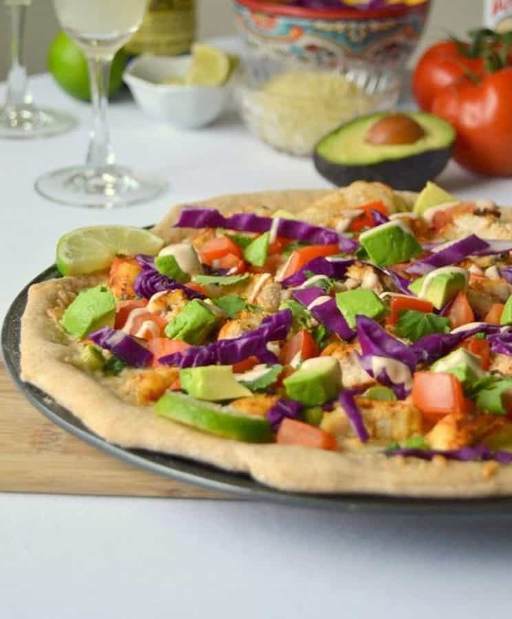 Tequila Lime Chicken Pizza