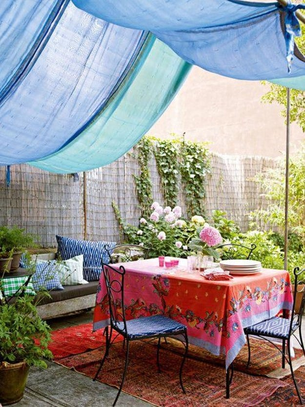 Diy Canopies And Sun Shades For Your, Canopy Diy Outdoor