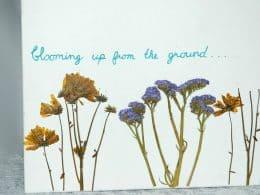 DRIED FLOWER CANVAS WALL ART