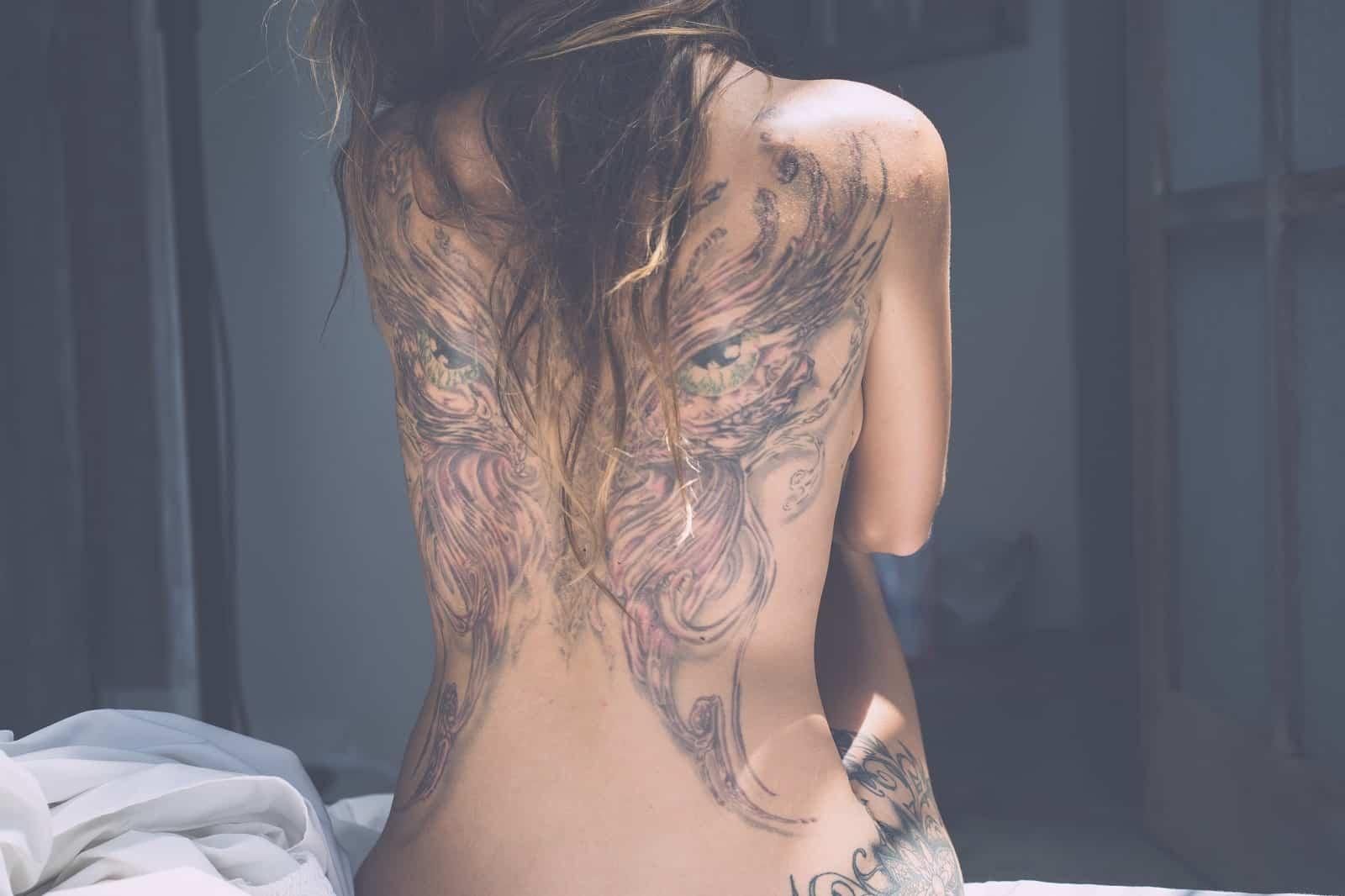 Top 20 Best Tattoo Ideas For Girls On Back In 20   Tattooed Martha