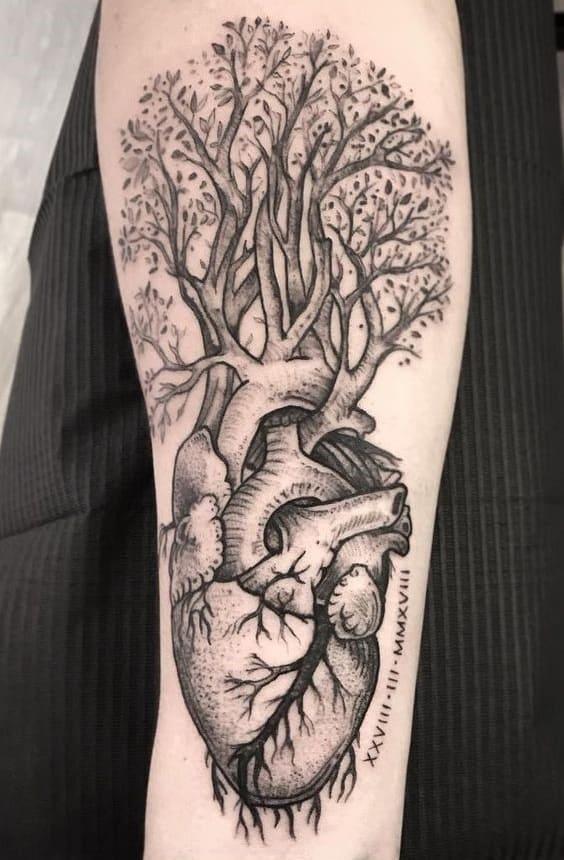 half sleeve tattoos for men Family