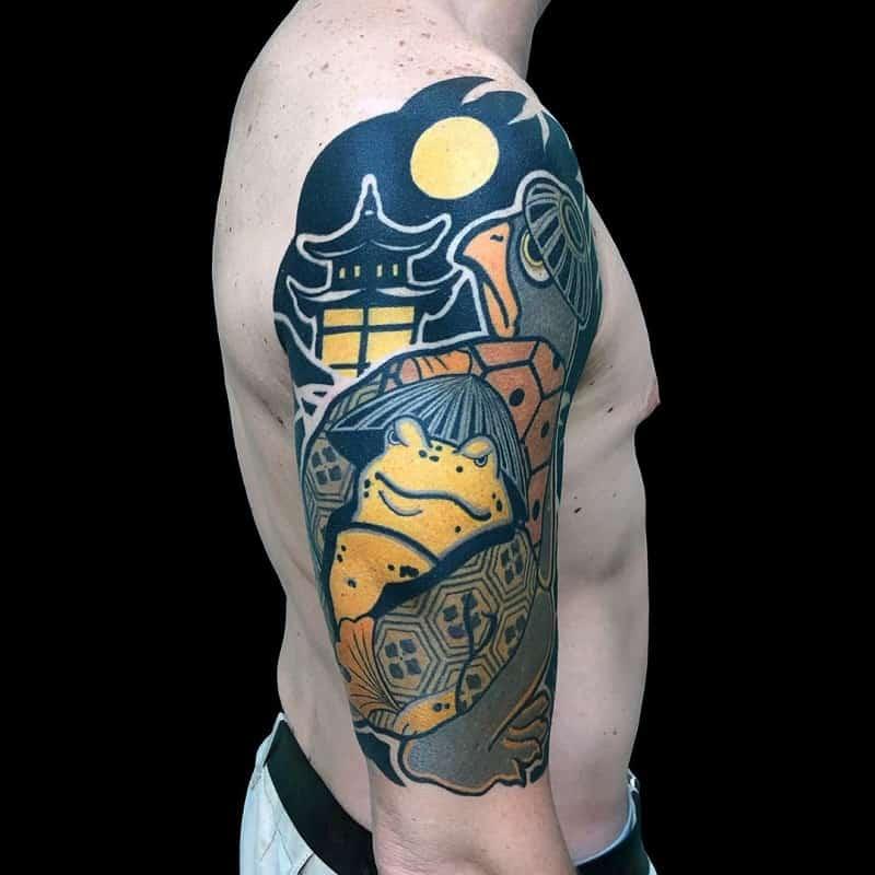 half sleeve tattoos for men Funny