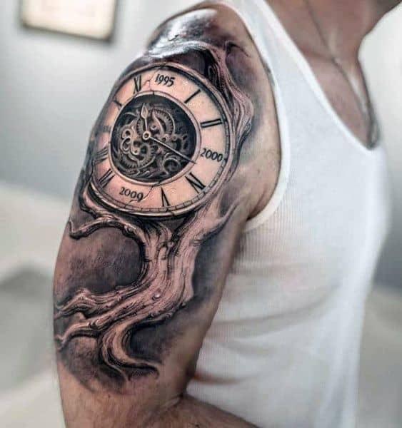 half sleeve tattoos for men Shoulder