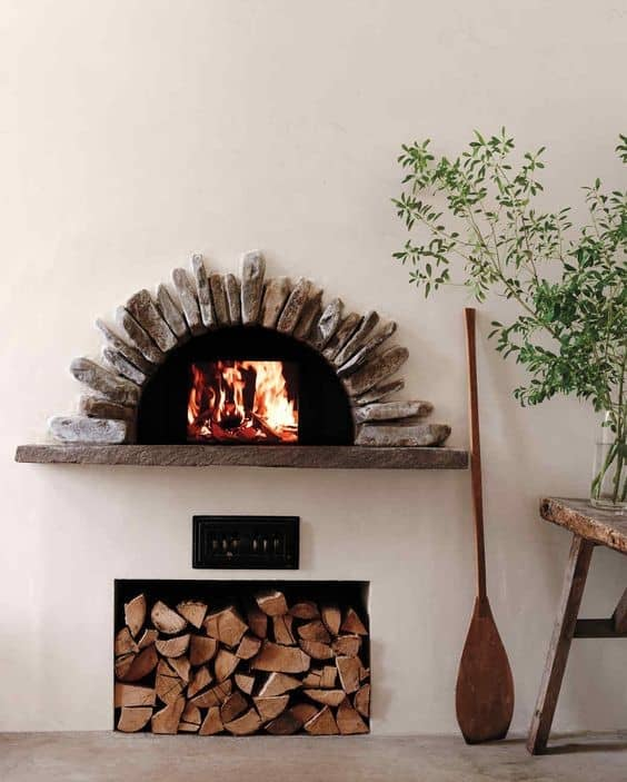 10. Simple Summer House Inspired Pizza Oven