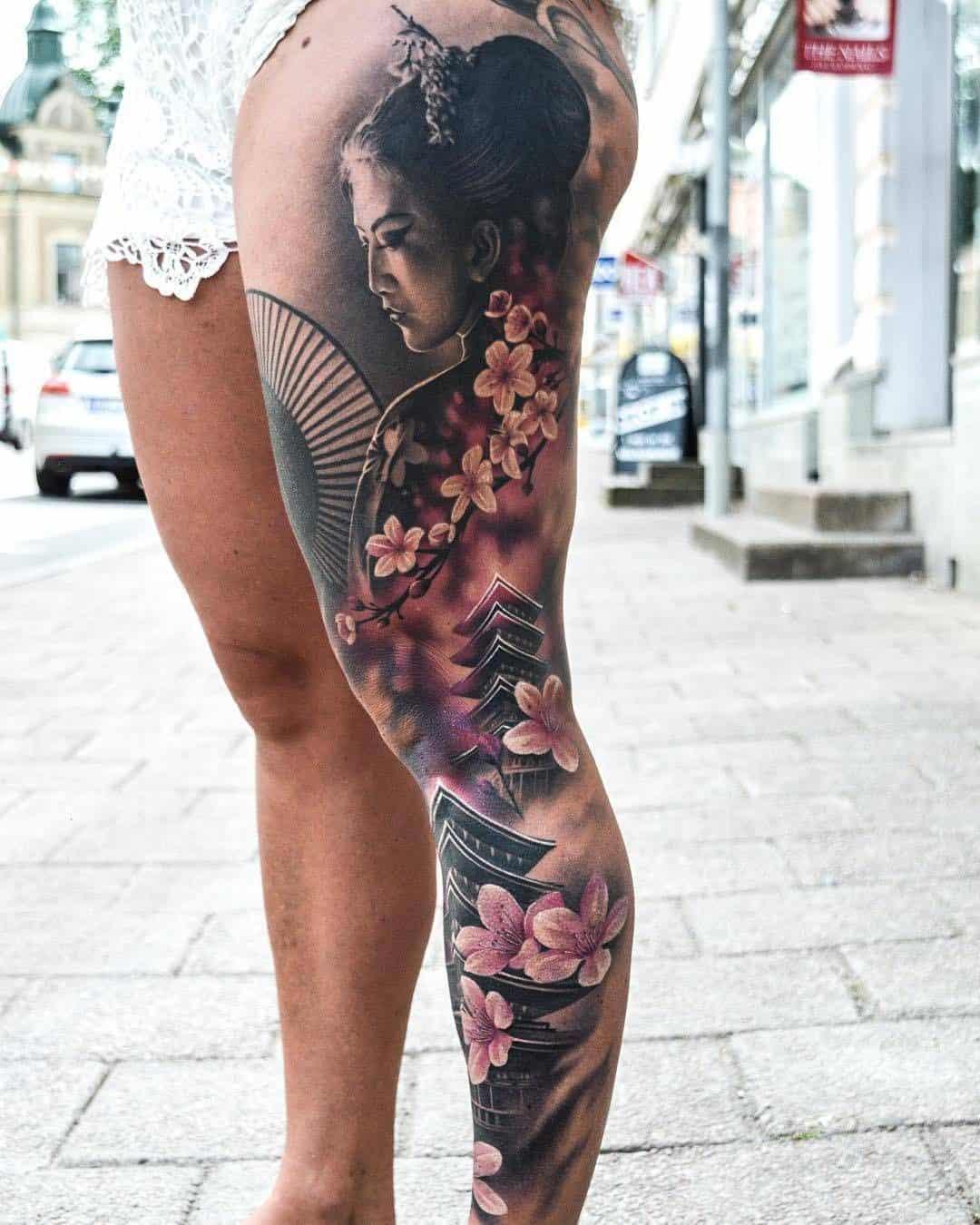 Japanese Mandala Tattoo