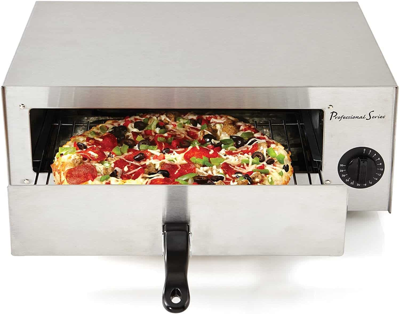 2. Dark Black Matte Pizza Oven