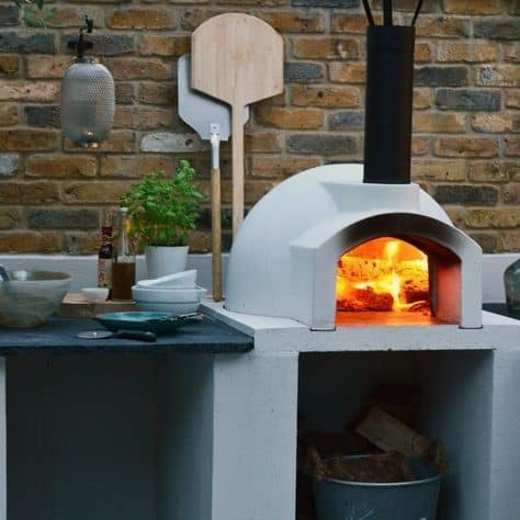 7. Super Modern DIY Pizza Oven Idea