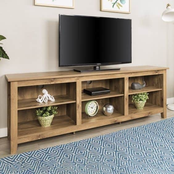 8. Large And Practical DIY TV Stand
