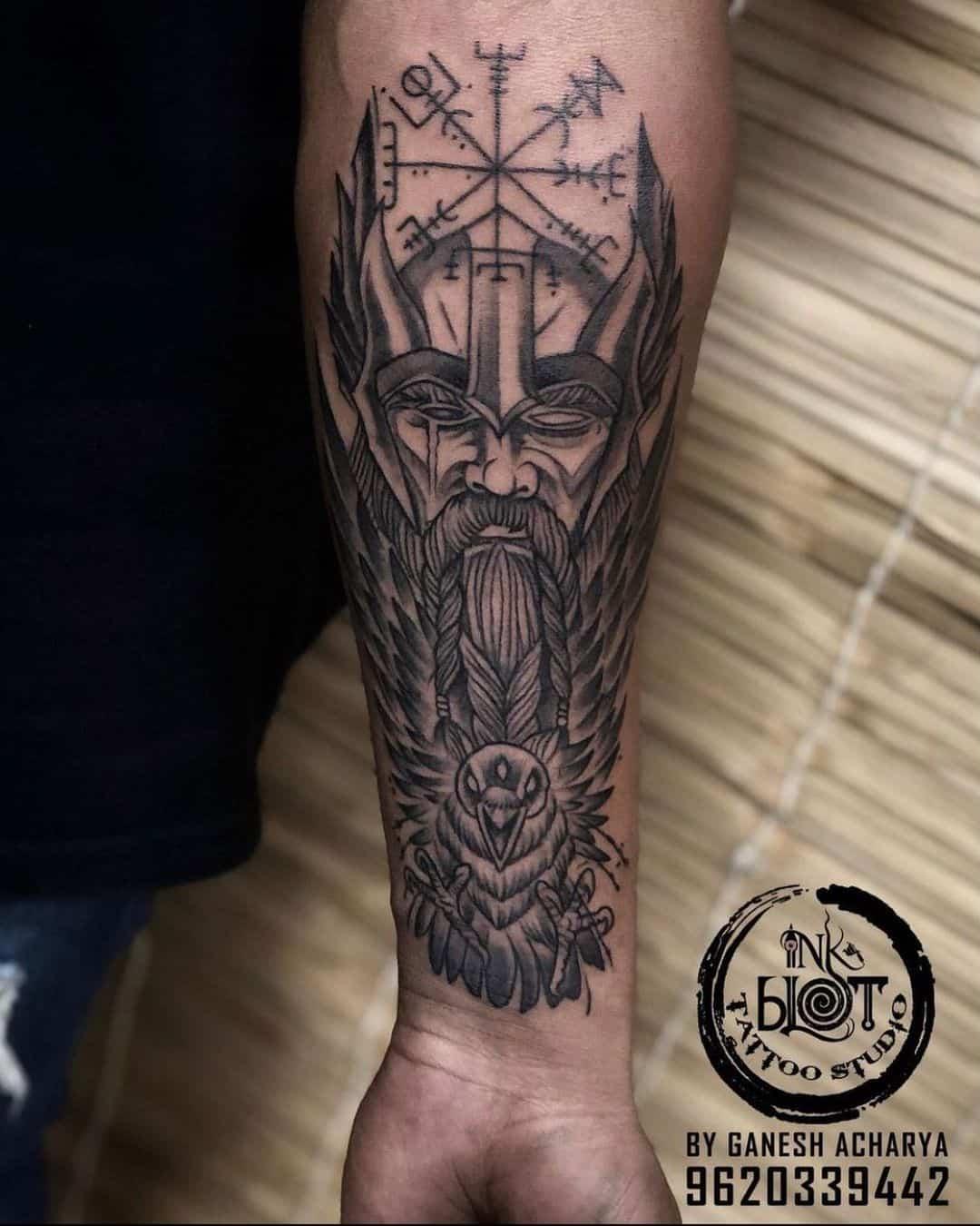 Norse Viking Mythology Inspired Design