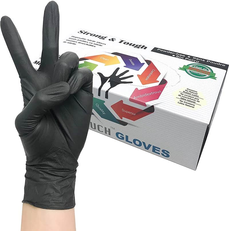 Infi-Touch Heavy Duty Nitrile Gloves