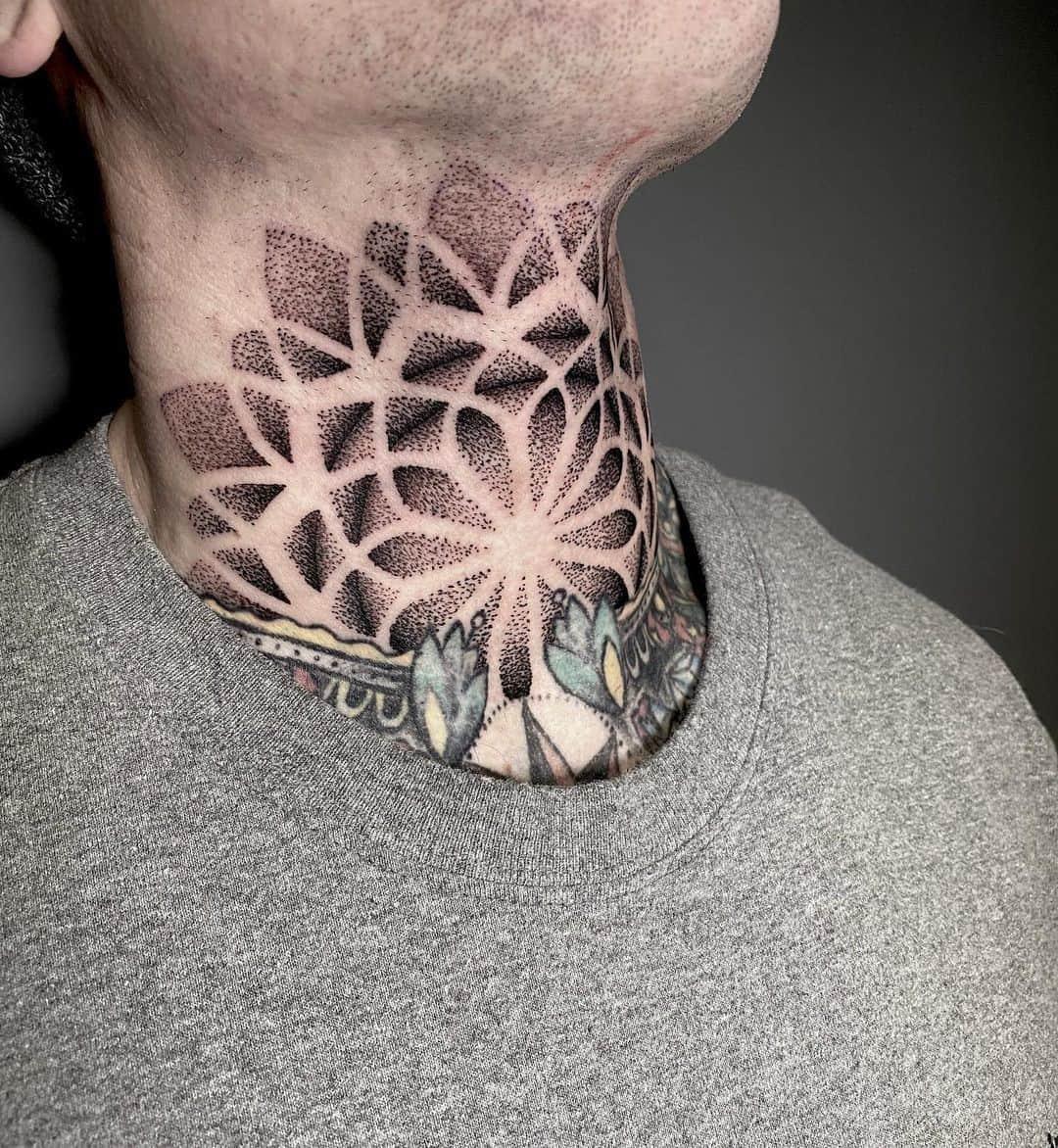 Throat Tattoos 3