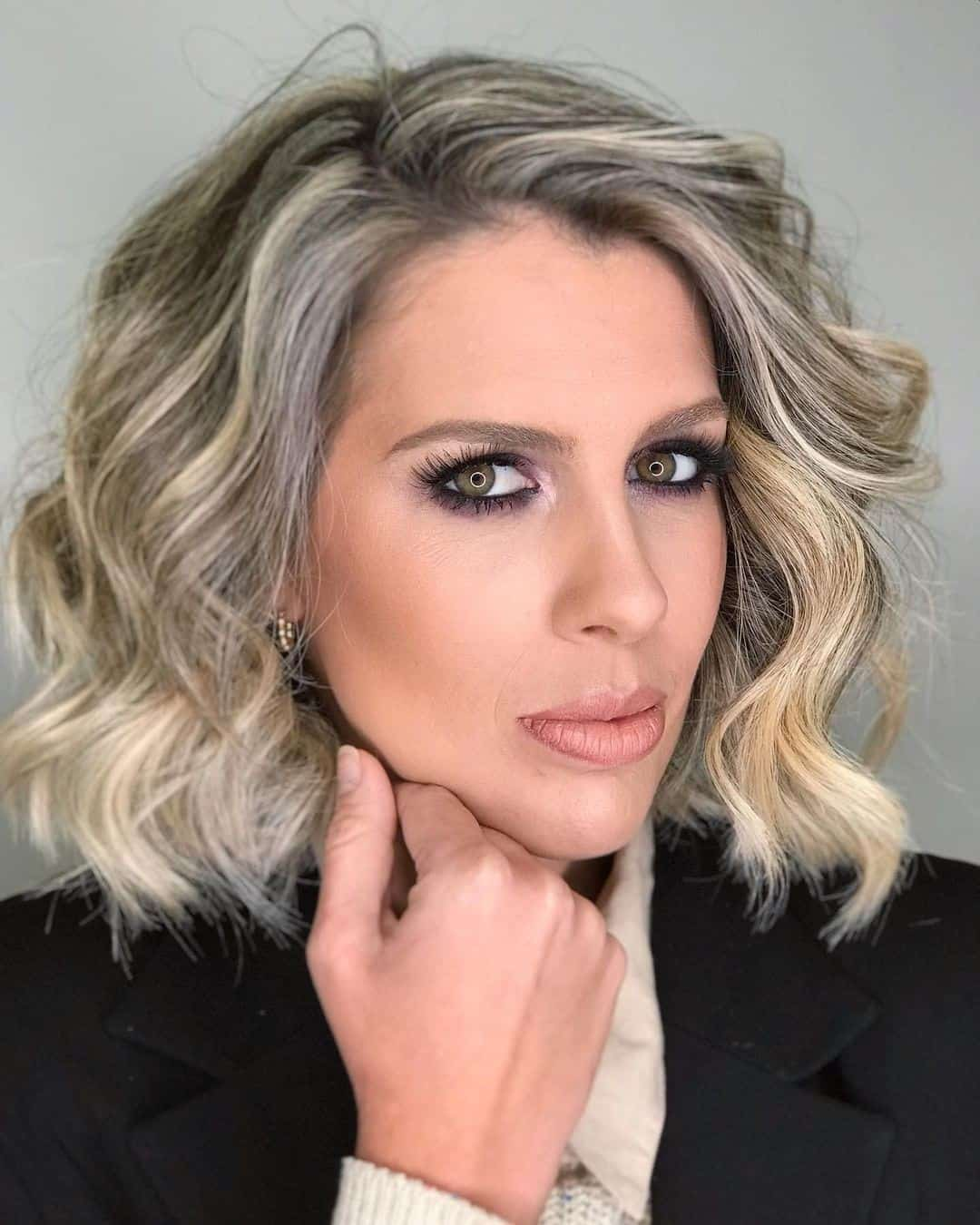 Blonde Look For Women With Round Faces