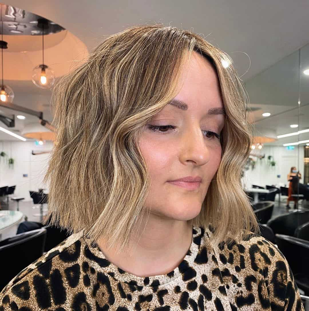 Defined Lob Cut For Round Faces