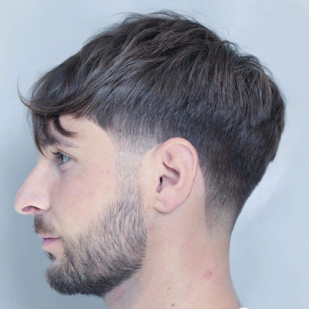 Hairstyle For Round Face Thin Hair