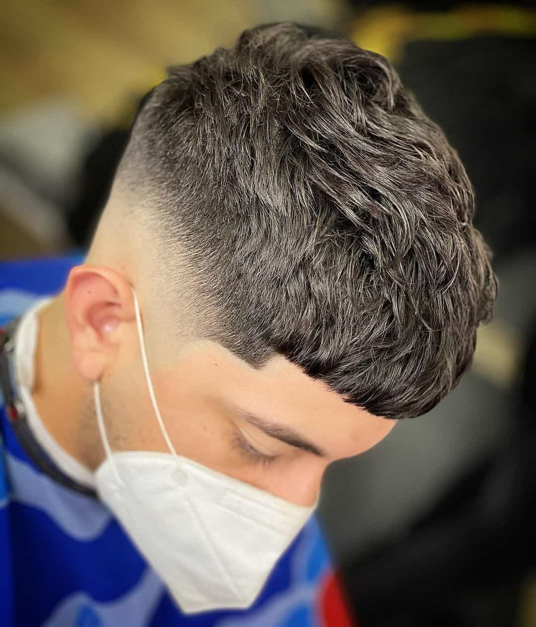 Precise Cut For Men With Round Faces